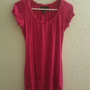 INC pink tunic top •Size Small